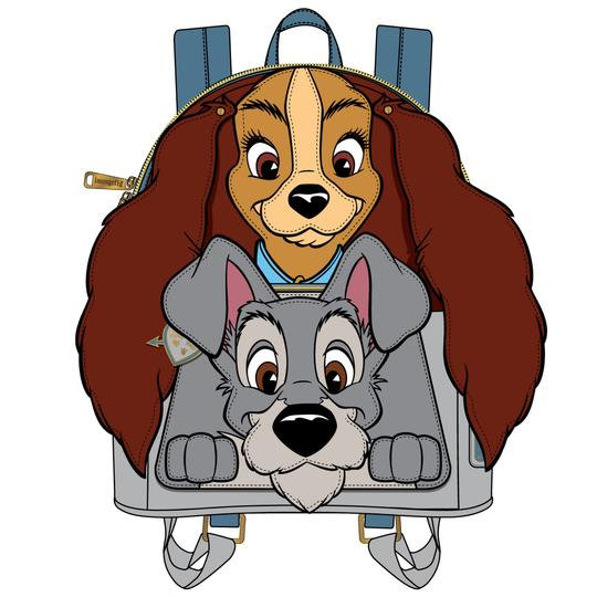 Loungefly - Lady & the Tramp - Mini Backpack