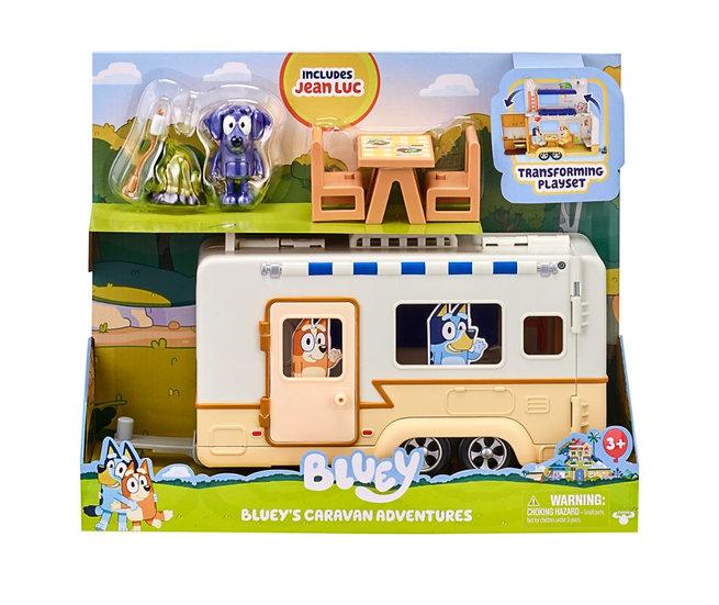 Bluey Campervan Playset