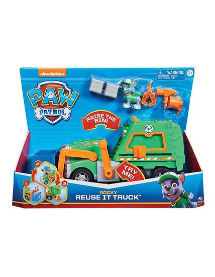 Paw Patrol Rocky Re Use It Truck