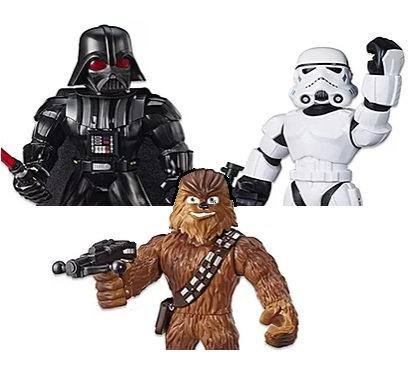 Star Wars Galactic Heroes Mega Mighties 3-Pack 10-Inch Action Figures