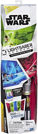 Star Wars Light Up Lightsaber Academy Training Interactive Battling System