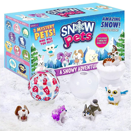 Be Amazing Toys Snow Pets 3 Pack