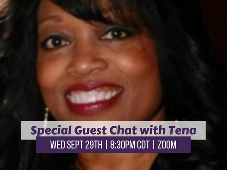 Special Guest Tena Morales-Armstrong