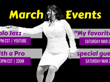 March 2021 Live Events