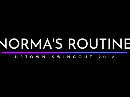 Norma's Routine - Uptown Swingout 2018
