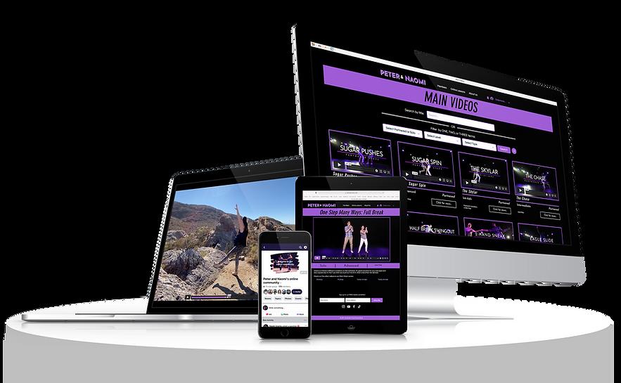 Devices Mockup Membership with Platform.