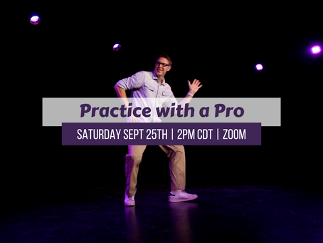 Practice with a Pro Saturday 9/25/21