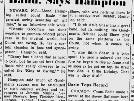 That's Old News - Hampton on Basie