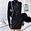Thumbnail: PU LEATHER CROCODILE SPAGHETTI STRAP DRESS