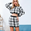 Thumbnail: KNITTED PLAID TWO PIECE