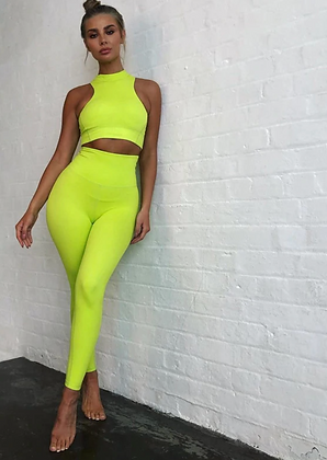 PREMIUM NEON TWO PIECE WITH TOP DETAILING