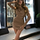 Thumbnail: RUCHED PURE MINI DRESS