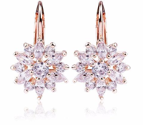 BIJOUTERIE DIAMOND ENCRUSTED DAINTY EARRINGS