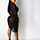 Thumbnail: LONG SLEEVE SEQUIN CUT OUT SEE THROUGH DRESS