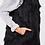 Thumbnail: LUXURY BLACK FAUX MONGOLIAN GILET