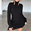 Thumbnail: TURTLE NECK LONG SLEEVE SWEATER DRESS