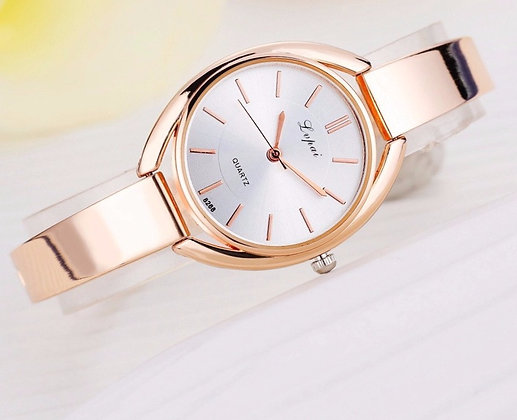 LVPAI QUARTZ ROSE GOLD WATCH