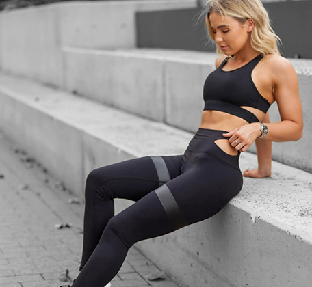 PREMIUM GYM TWO PIECE WITH DETAILING