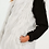 Thumbnail: LUXURY WHITE FAUX MONGOLIAN GILET