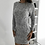 Thumbnail: LONG SLEEVE BODYCON SWEATER DRESS