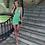 Thumbnail: SHOULDER DETAILED BODYCON SUMMER DRESS