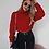 Thumbnail: LONG SLEEVE CROPPED TURTLE NECK JUMPER