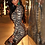 Thumbnail: LEOPARD PRINT LONG SLEEVE BODYCON DRESS