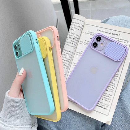 LUXURY SOFT CAMERA PROTECTOR IPHONE CASE