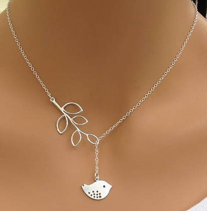 INFINITY LUXURY SILVER FISH PENDANT NECKLACE
