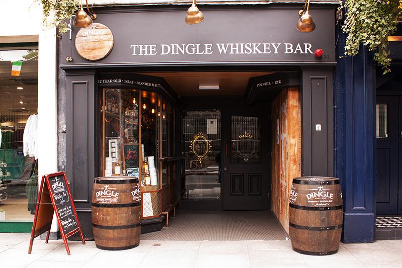 dingle whiskey bar nassau street