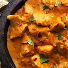 Hyderabadi Chicken Curry served with Pilau Rice