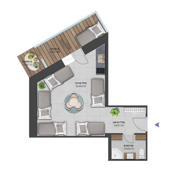 דירה 9 - לחץ להגדלה