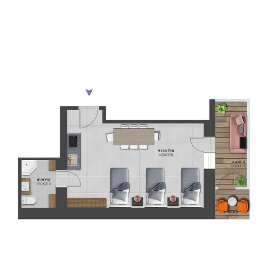 דירה 7א - לחץ להגדלה