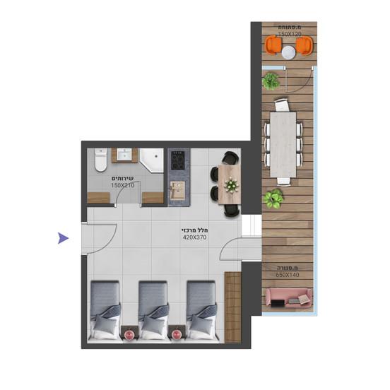 דירה 6א - לחץ להגדלה