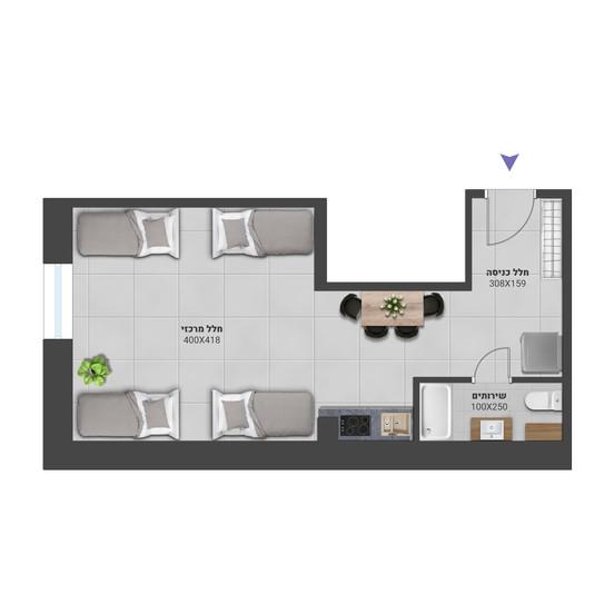 דירה 3 - לחץ להגדלה