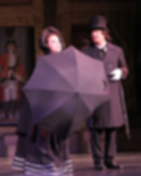 "Caitlin Burke as Mad Margaret with Richard Holmes ""Ruddigore"" at N.Y. City Center"