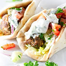 DINNER FOR TWO PEOPLE GYRO DINNER