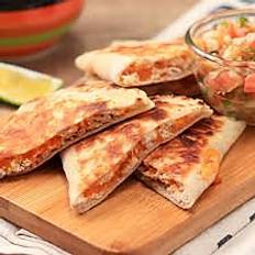 Layered Cheese Quesadillas