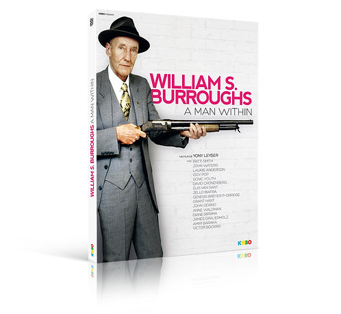 WILLIAM S. BURROUGHS A MAN WITHIN (DVD)