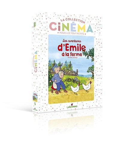 LES AVENTURES D'ÉMILE À LA FERME (DVD)