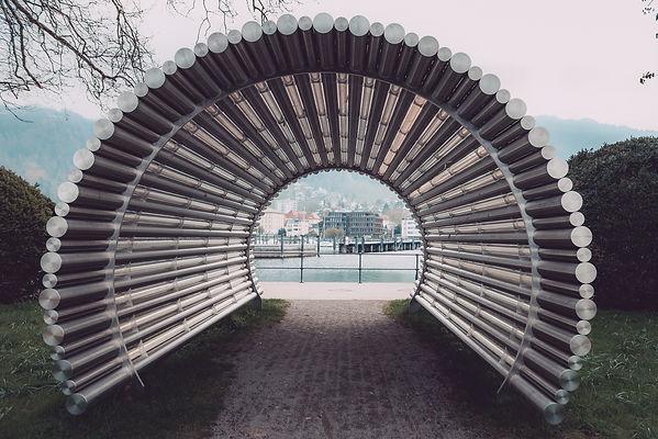 Gerry Amann Lichttunnel