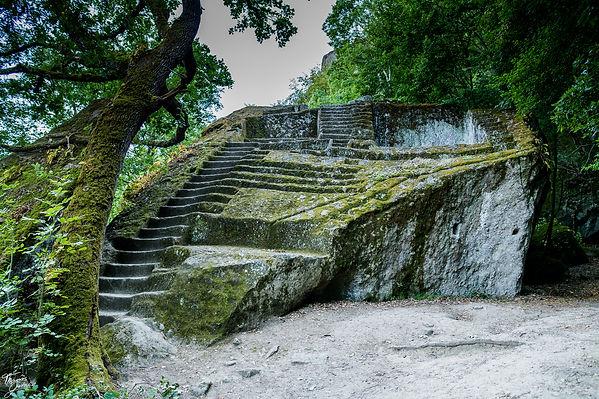 Pyramida etrusaca di Bomarzo