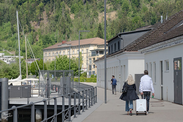 life after Corona crisis back to life may 2021 bregenz Austria lake of Constance