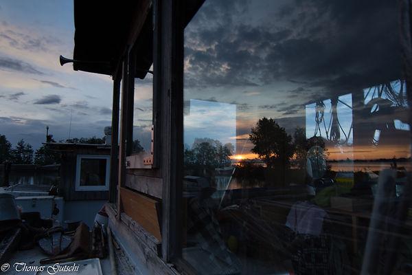 Kiesschiff i, Industriehafen