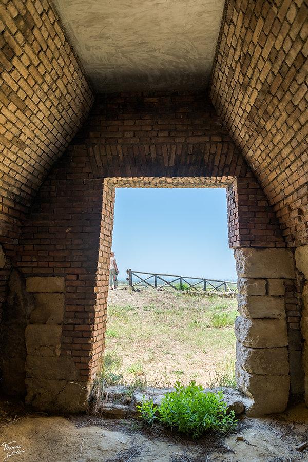 Necropole etrusce Tumuli del Re tarqzuinia