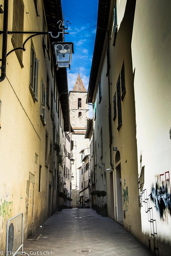 Gasse in Arezzo