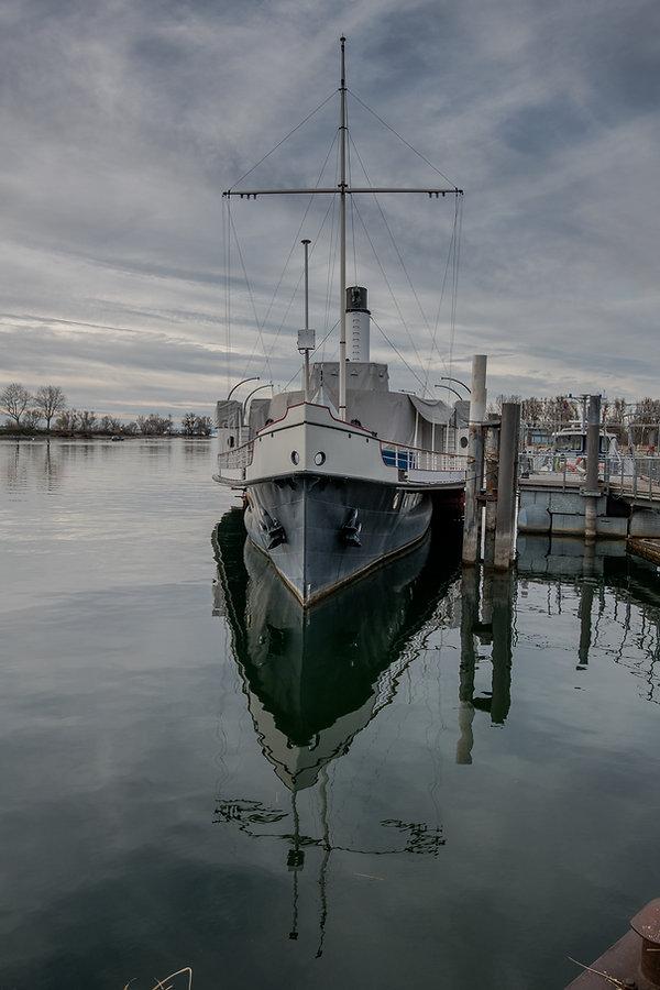 Dampfschiff Hohentwil