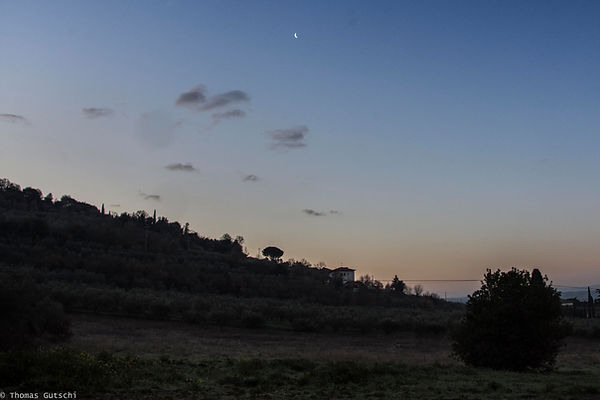 Abendsonne im Chianatal