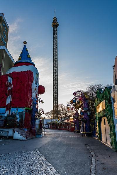 Europes tallest merry go round
