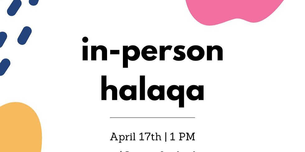 In-Person Halaqa
